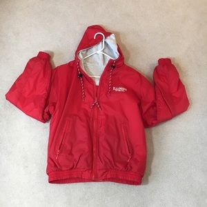 IL State University Reversible hooded zip jacket S
